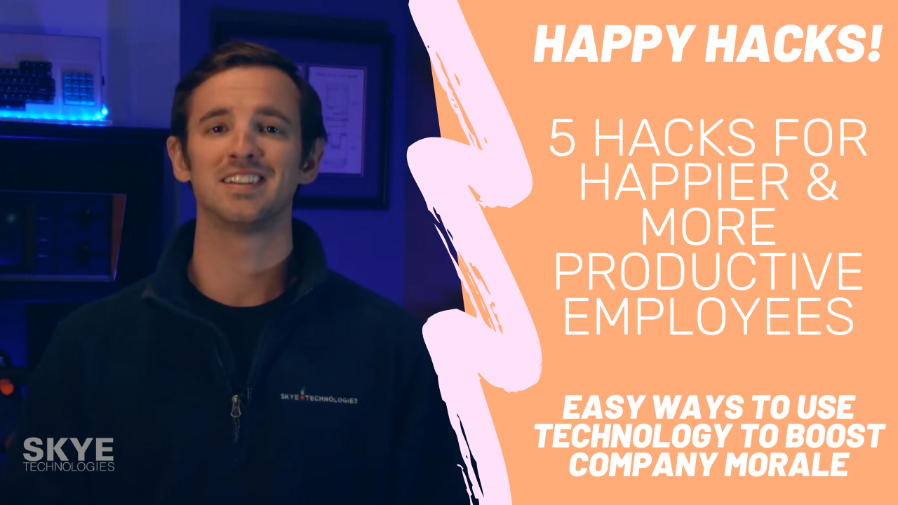 5 Hacks for Happier & More Productive Employees